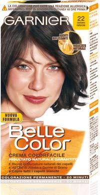Permanent Hair Dye Belle Color 22 Brown