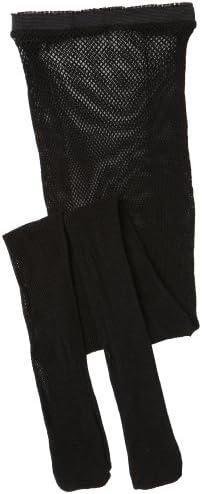Capezio Big Girls Studio Basics Back Seam Fishnet Tight Black One Size product image