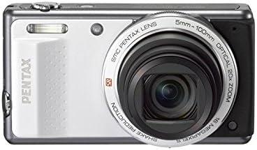 Pentax Optio Vs20 Digitalkamera 3 Zoll Weiß Kamera