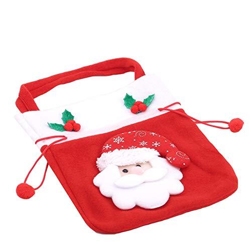 Generic sanmeiyang Weihnachtsgeschenkbeutel Geschenkverpackung Verschiedene Arten Weihnachtsgeschenkbeutel für Weihnachtsfeier-Weihnachtsfeiertage