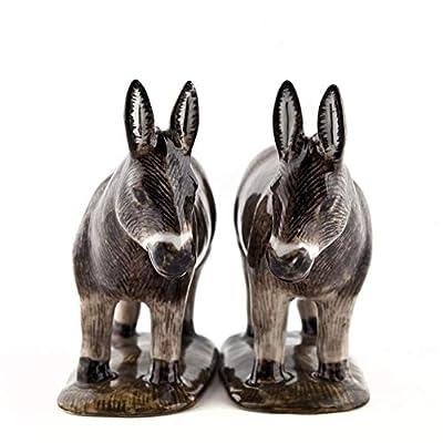 Quail Ceramics - Brown Donkey Salt And Pepper Pots from Quail Ceramics