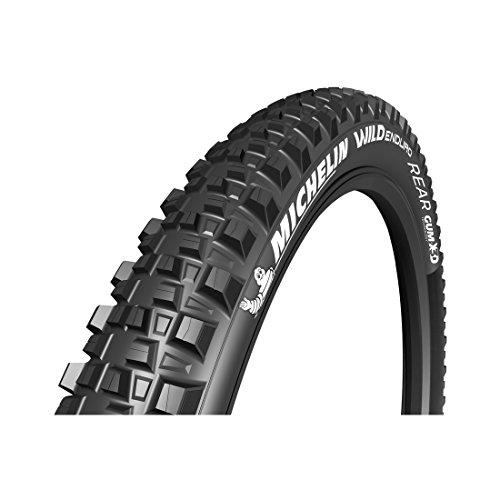 Michelin Unisex– Erwachsene Wild Enduro Rear faltbar Fahrradreife, schwarz, 29