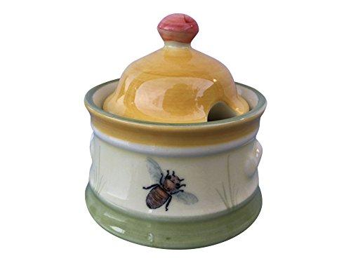 Zeller Keramik Biene Zuckerdose Servierware