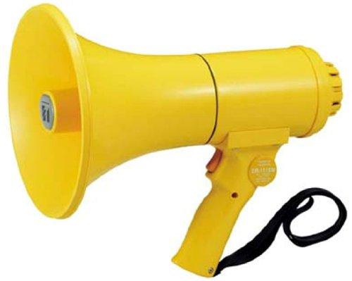 TOA(ティーオーエー) 防滴メガホン(中型) 15W ホイッスル音付き ER-1115W