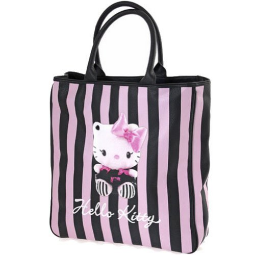 Hello Kitty Sac shopper rayé by Camomilla