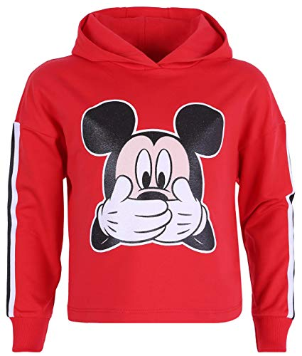 Sudadera roja con Capucha Mickey Mouse Disney 7-8 Años 128 cm