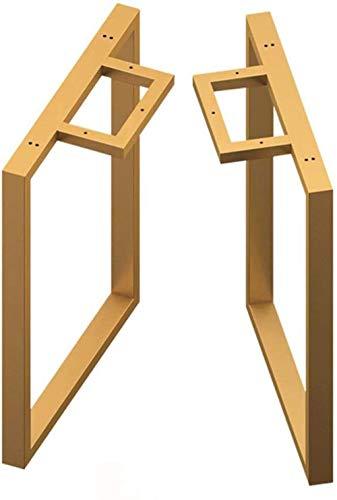 Gambe del Tavolo Gold Bar Tavolo Gambe Tavolo Gambe Tavolo Armadio Rack di Supporto Gambe Gambe...