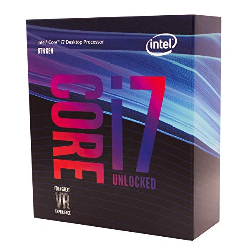 Intel Core i7-8700K - Procesador ( 8ª generación de procesadores Intel Core i7, 3.7 GHz, 12MB Smart Cache, PC, 14 nm, 8 GT/s) (Reacondicionado)