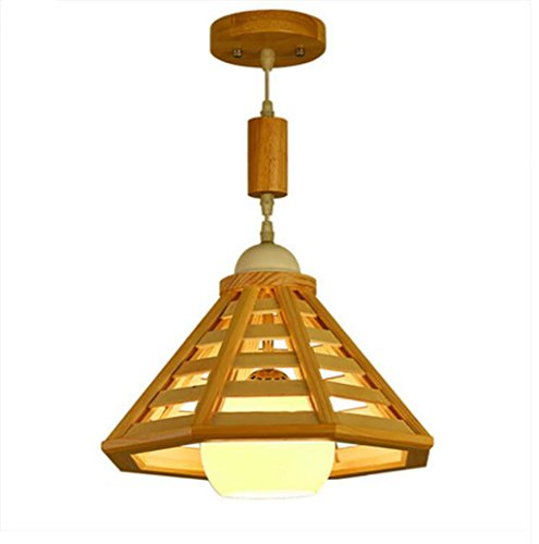 cdbl-plafondlampen Nordic persoonlijkheid creatief monteren balkon restaurant kroonluchter woonkamer gang garderobe hout kroonluchter moderne eenvoudige woonkamer hennep kroonluchter