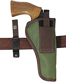 Barsony New Woodland Green Ambidextrous 360Carry 8 Option Holster for 6