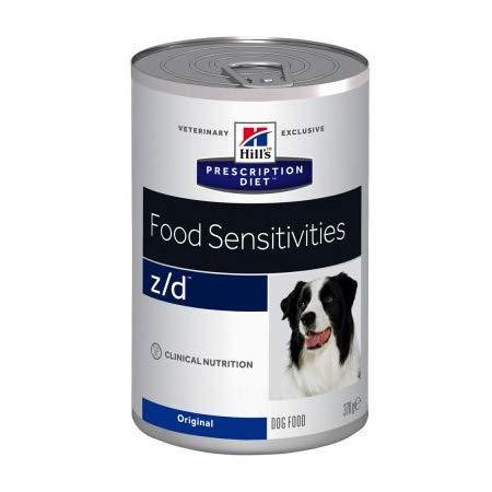 Hills Prescription Diet z/d Canine Ultra Allergen Free Mangime Luftfeuchtigkeit für Verträglichkeiten 1 Dose 370 g