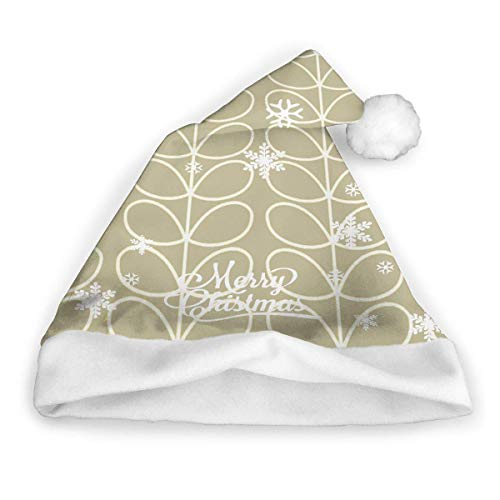 Sombrero de Santa Chino Retro, Unisex, Adorno de Piel Blanca, Sombrero de Navidad de Calidad, Sombrero de Papá Noel