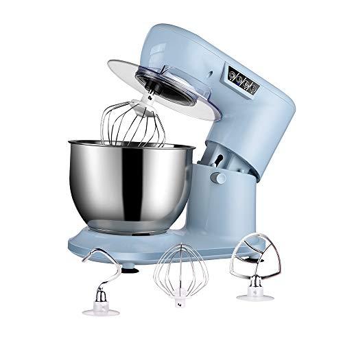 Aifeel Impastatrice Planetaria, Robot da Cucina professionale da 1000 W con Ciotola da 4L, Frusta, Gancio per Impastare, Battitrice, Para schizzi, Tasti Funzione LED