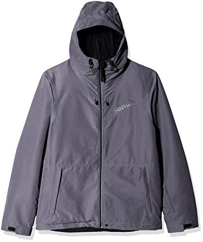 Bench Herren Instigation Skijacke, Dark Grey, XL