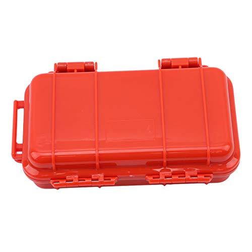 SEVENHOPE Draussen Kunststoff Wasserdichte Luftdichten Survival Fall Container Lager Box Tragen (S)