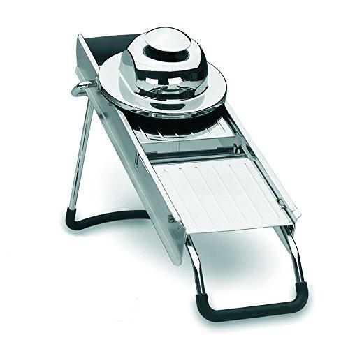 5. Lacor 60322 – Mandolina luxe de acero inoxidable con 5 tipos de cuchillas
