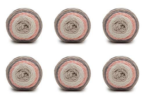 Caron Baby Cakes - Pack of 6 Balls- 100g Each Ball- Dreamy Peach