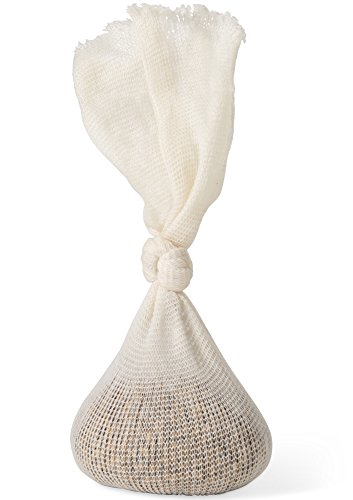 Hopfen und Getreide Musselin Tasche – Baumwollmühlen Bierbraubeutel 35,6 cm (5 Stück) – Mikrobrau, Heimbrauen Filterzubehör – Kochbeutel für Tee, Kochen, Nussmilch, Suppen – Hop und Getreide Socken
