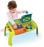 BLOKO – 503501 – Coffret table de construction et 37 'BLOKO' – Dès 12 mois – Fabriqué en EUROPE – Jouet de construction