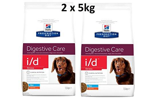 Hills Prescription Diet i/d Stress Mini : 2 x 5kg Digestive Care Hundefutter mit Huhn