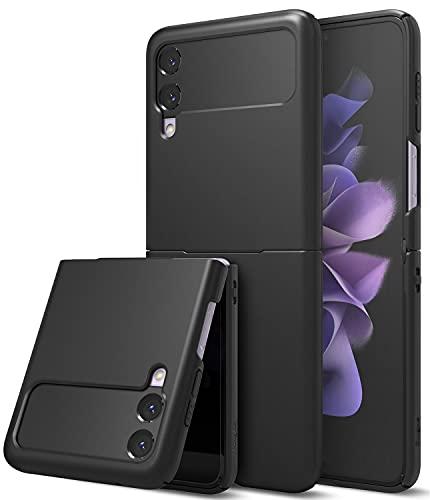 Ringke Slim Kompatibel mit Galaxy Z Flip 3 Hülle (2021) Cover - Black Schwarz