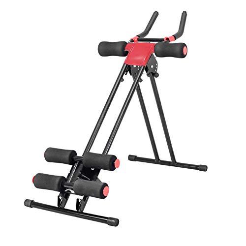 Ribelli Fitness Bauchmuskeltrainer Bauchtrainer Muskeltrainer Rückentrainer Shaper Sport - perfektes Training für Zuhause - klappbares Gestell - bis 120kg belastbar