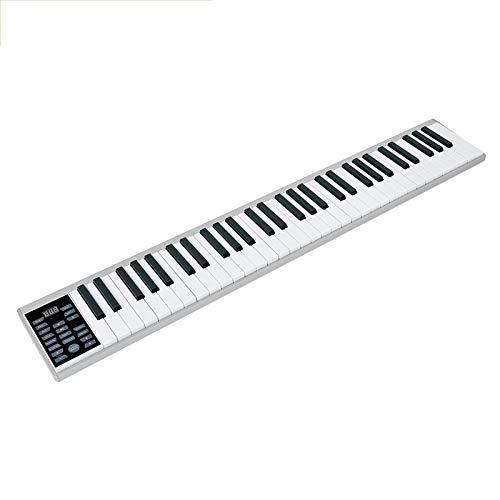 Órgano Electrónico ,Manual De Piano Inteligente De 61 Teclas Teclado Musical Conjunto De Piano Electrónico Portátil Adultos Principiantes Teclado Midi Profesional Carga De Modelos Bluetooth