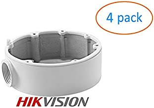 Kenuco CB110 DS-1280ZJ-DM18 Conduit Base for Hikvision Dome Camera DS-2CD2142FWD-I (4 Pack)