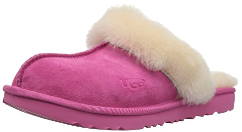 UGG Girls K Cozy II Slipper, Pink Azalea, 6 M US Big Kid