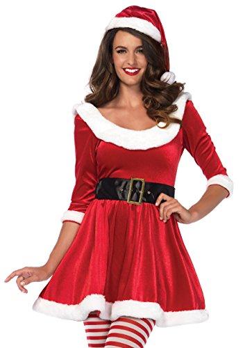 Leg Avenue Women's Costume, Red/White, Medium/Large