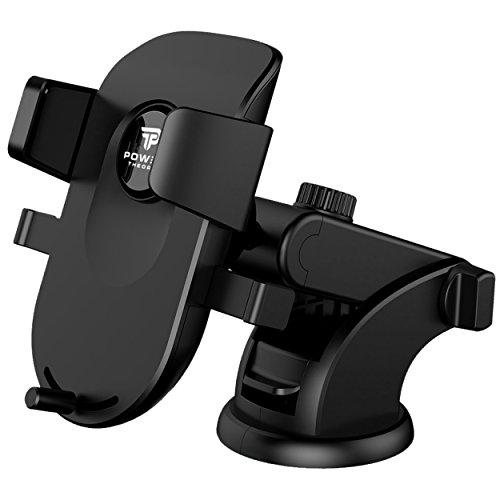 Power Theory Handyhalter fürs Auto - Handyhalterung Armaturenbrett, Halterung Smartphone Handy Halter Universal Autohalterung