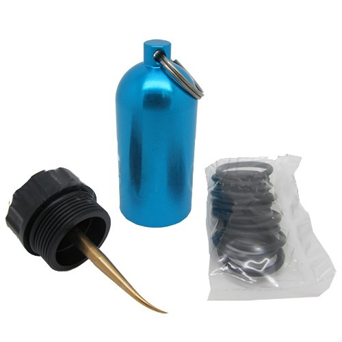 Sharplace Diving Tank 12 O-Rings Dive Kit Keychain with Pick Innovative Scuba Concepts