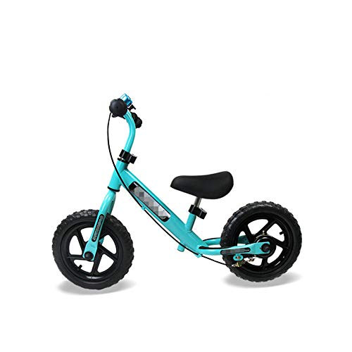 YSCYLY Bici Sin Pedales,12 Pulgadas con Freno de Mano Marco de Acero de Alto Carbono y Rueda sólida de EVA,para El Primer Regalo De CumpleañOs para BebéS En Bicicleta