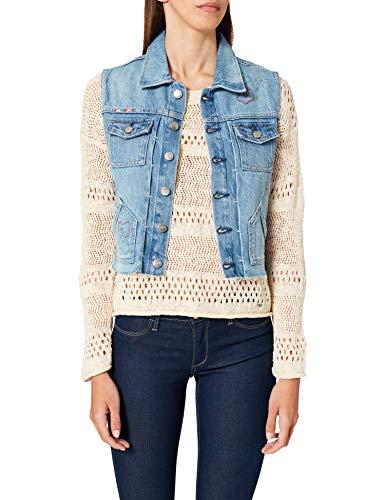 Pepe Jeans Elsie Floral Jacket Mujer 000denim L