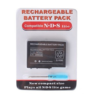 Batería de repuesto para Nintendo DS Lite NDSL 2000 mAh