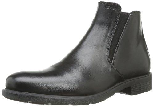 Geox Herren U DUBLIN D Chelsea Boots, Schwarz (BLACKC9999), 43 EU