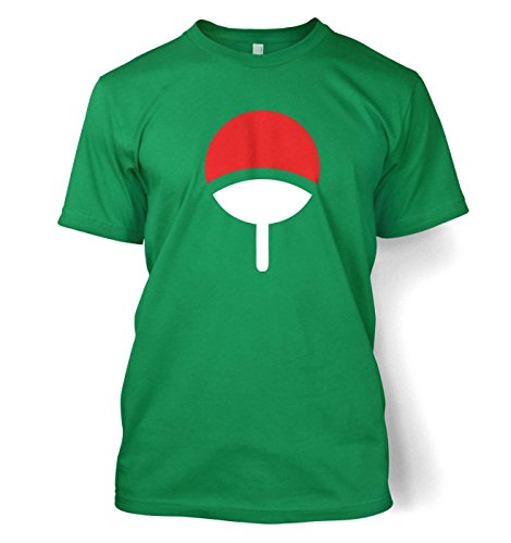 "Uchiha Family Männer T-Shirt (XX-groß(50/52\"")/Kelly Grün)"