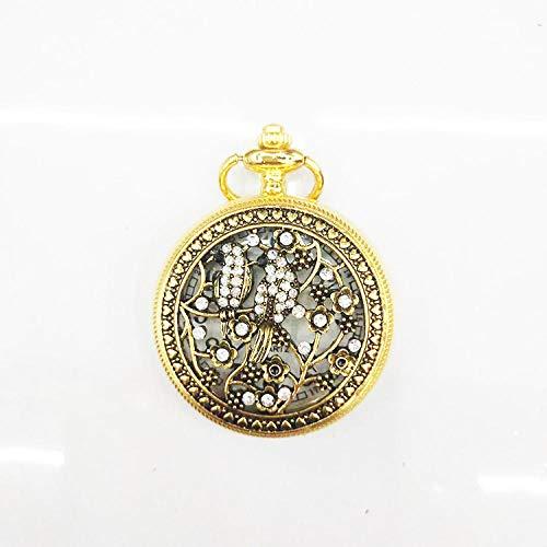 Nwarmsouth Mujer Niña Reloj Médico,Reloj de Bolsillo Creativo Vintage, Reloj de Bolsillo Universal con Tapa abatible-9,médico Reloj de Bolsillo