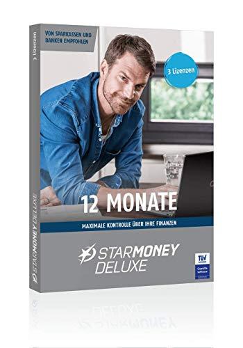 STARMONEY Deluxe Jahreslizenz (12 Monate ab Lizenzaktivierung) Star Money