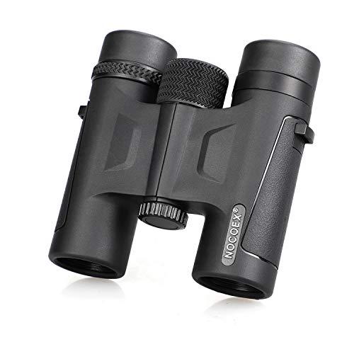 NOCOEX 10x26 HD Binocolo Professionale Binoculars - Telescopio Militare per la Caccia e di Viaggio - Pieghevole Compatto Formato Tascabile - Alta Clear Vision