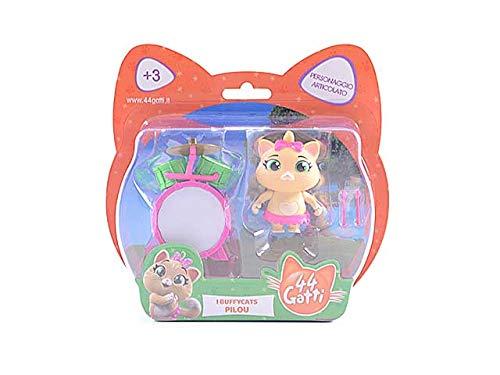 Simba Toys 44 Gatti - Personaggio 8 Cm Pilou Merchandising Ufficiale