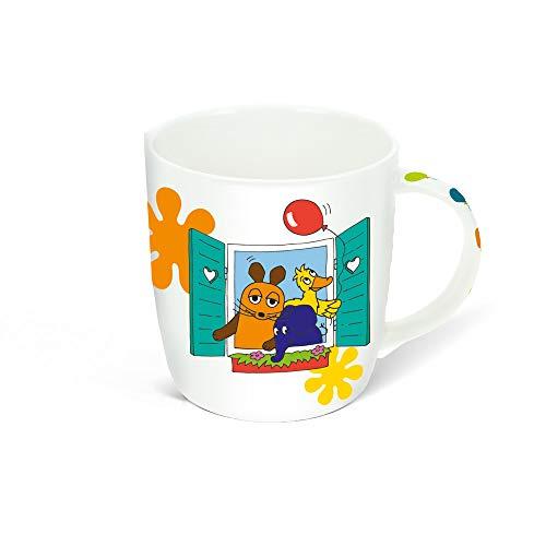 Trötsch Die Maus Maus und Freunde Tasse in Hausverpackung: Aus Porzellan mit Geschenkverpackung