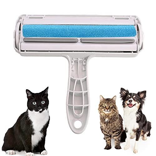 N\O Removedor de Pelo de Mascotas Quitapelos y Rodillos para Mascotas Cepillo de Limpieza Removedor de Pelaje para Perro y Gato Fácil de Limpiar la Piel de Las Mascotas en Muebles, Ropa, Ropa