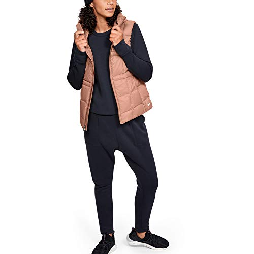 Under Armour Armour Down Gilet Femme Marron FR : S (Taille Fabricant : Taille SM)