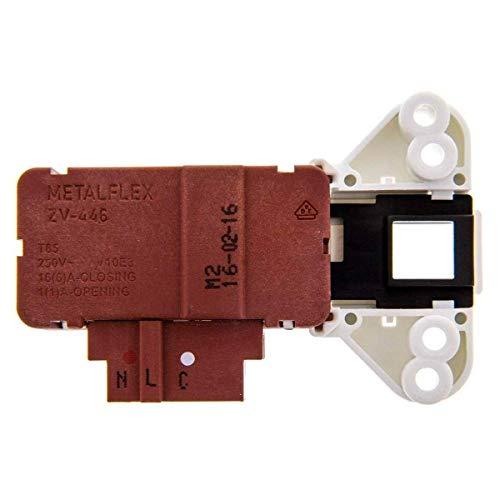 Interruptor retardo blocapuerta Lavadora FAGOR ZV-446 - Compatible con distintos modelos de lavadoras ASPES, BRANDT, EDESA, FAGOR, SMEG, THOMSON, VEDETTE, WHITE-WESTINGHOUSE - L39A004I8