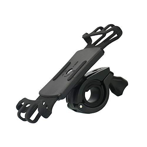 AMAZOM Soporte para Teléfono De Bicicleta, Soporte Universal para Unidades De Bicicleta De Silicona para Motocicleta, Compatible con La Mayoría De Los Teléfonos Móviles