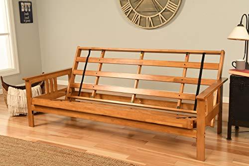 Kodiak Furniture Monterey Futon Frame with Butternut Finish, Full,