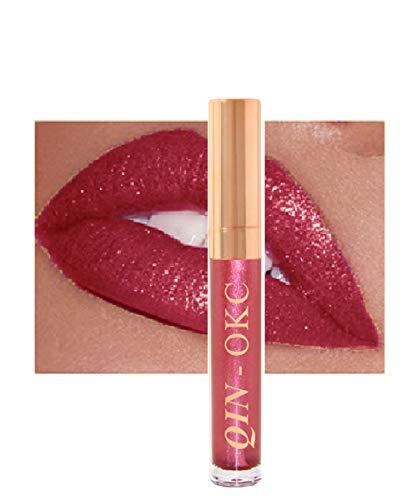 QIN - OKC Shimmer Liquid Lipstick Gloss - Long Lasting - Waterproof - Kiss proof - Super stay - High...