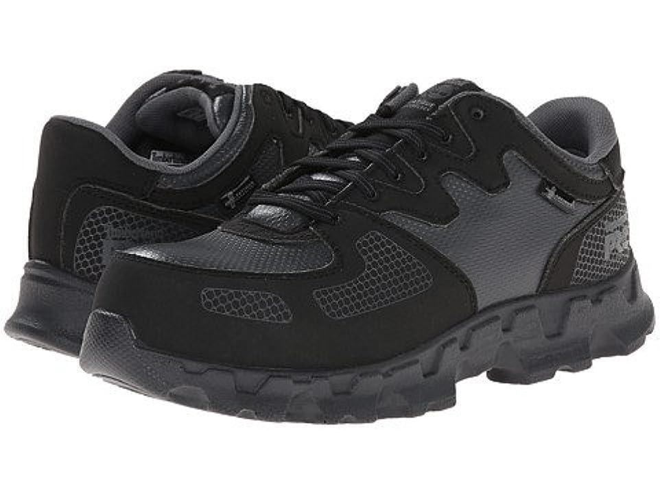 工夫するトランスペアレントリファインレディースウォーキングシューズ?カジュアルスニーカー?靴 Powertrain Alloy Safety Toe ESD Black/Grey 8 25cm D - Wide [並行輸入品]