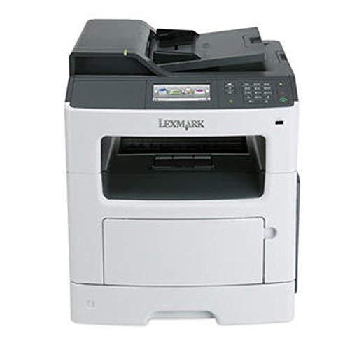 Lexmark Mx410de Laser Multifunction Printer - Monochrome - Plain Paper Print - Desktop - Copier/Fax/Printer/Scanner